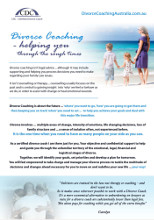 2014 Divorce Coaching Brochure